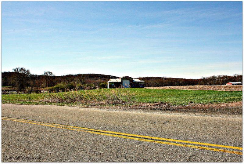 Barn on Highway
