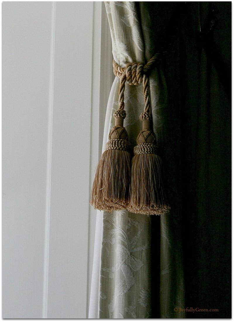 Window Tassles © Joyfully Green
