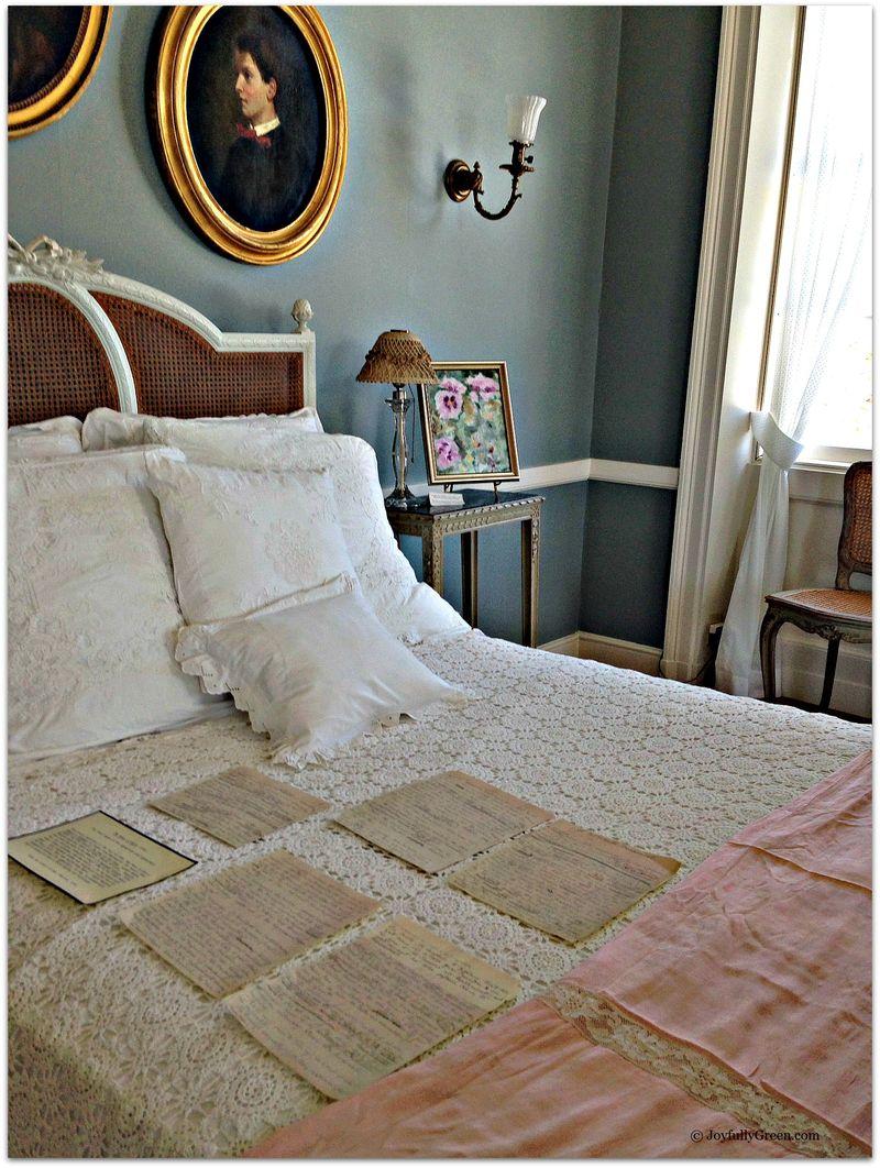 Wharton Bedroom with Manuscript