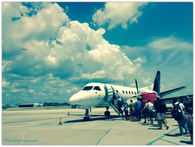 Bahamas plane © Joyfully Green