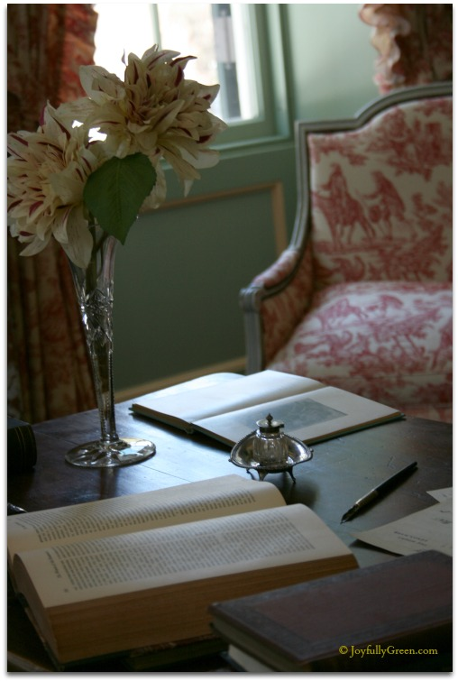 Edith Wharton Desk © Joyfully Green