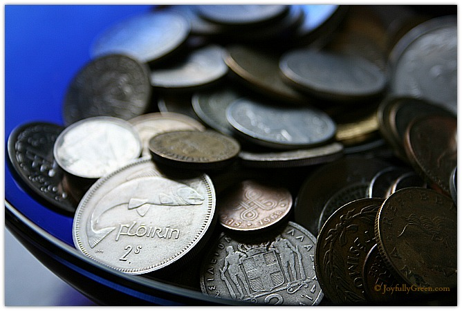 Coins by Joyfully Green