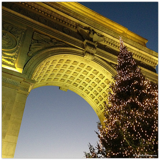 Washington Square Arch by Joyfully Green