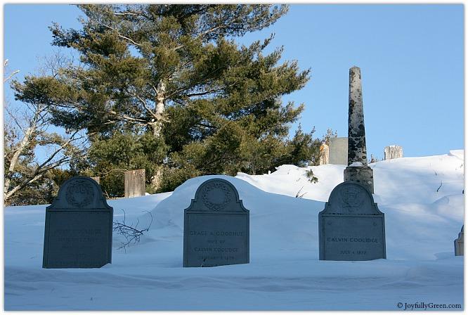 Calvin Coolidge Grave © Joyfully Green LLC