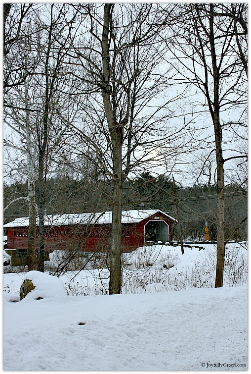 Vermont Covered Bridge 3 © Joyfully Green LLC
