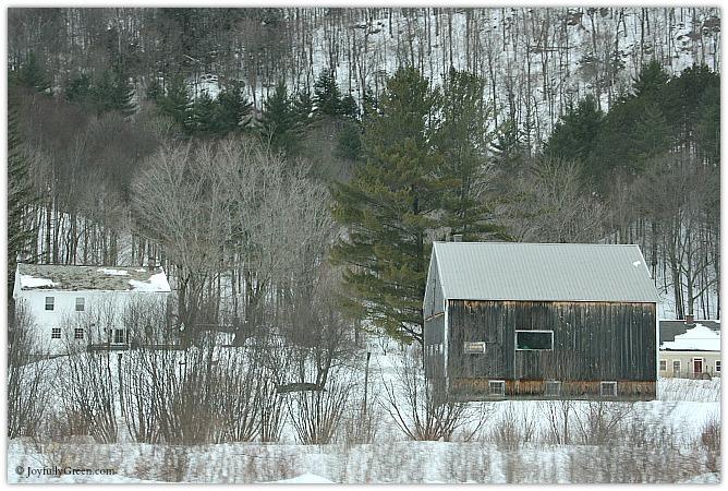 Vermont Barn © Joyfully Green LLC