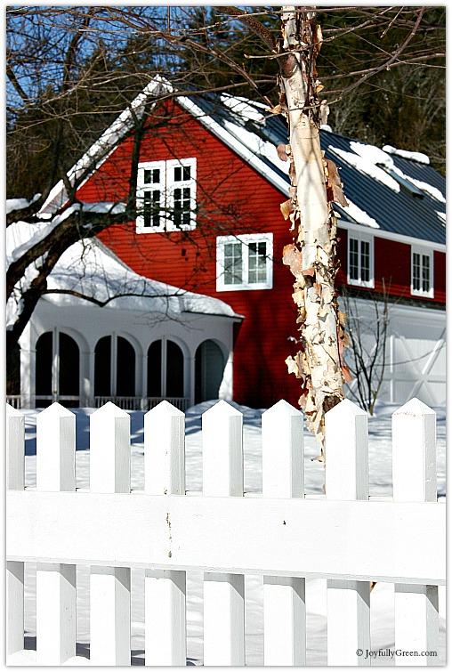 Vermont Barn 2 © Joyfully Green LLC