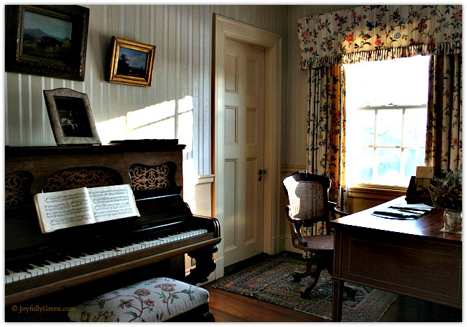 Hildene Piano © Joyfully Green LLC