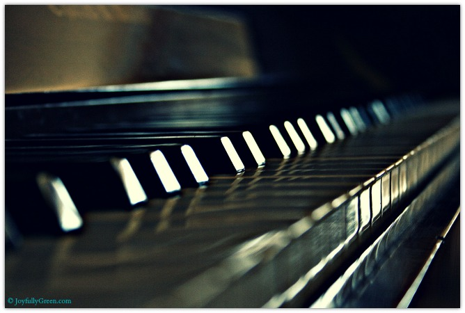 Piano © Joyfully Green LLC