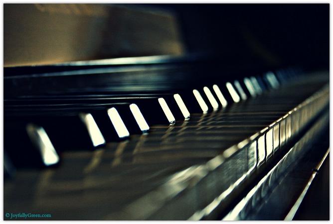Piano © Joyfully Green LLC