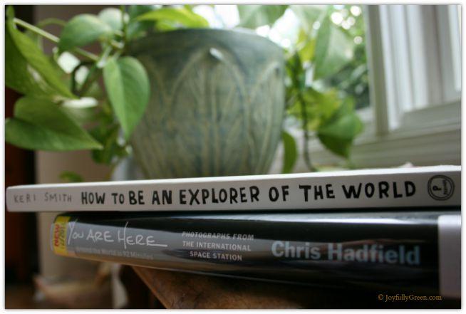 Books Inspiring Me © Joyfully Green LLC