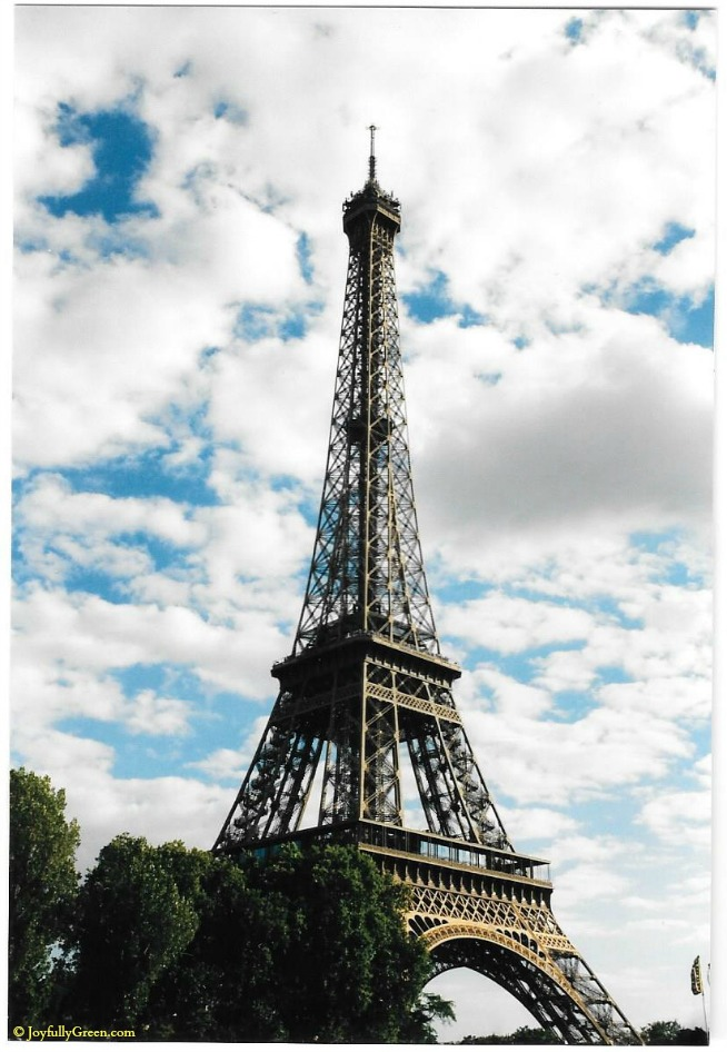 Paris-Eiffel Tower © Joyfully Green LLC