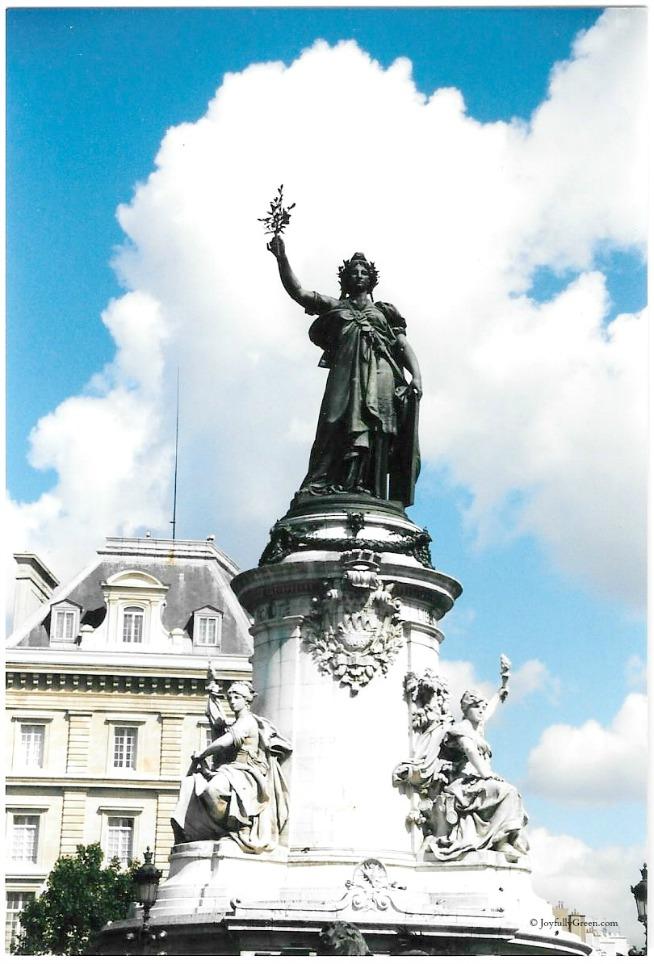 Paris Marianne 2 © Joyfully Green LLC