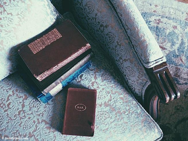 Old Books © Joyfully Green LLC