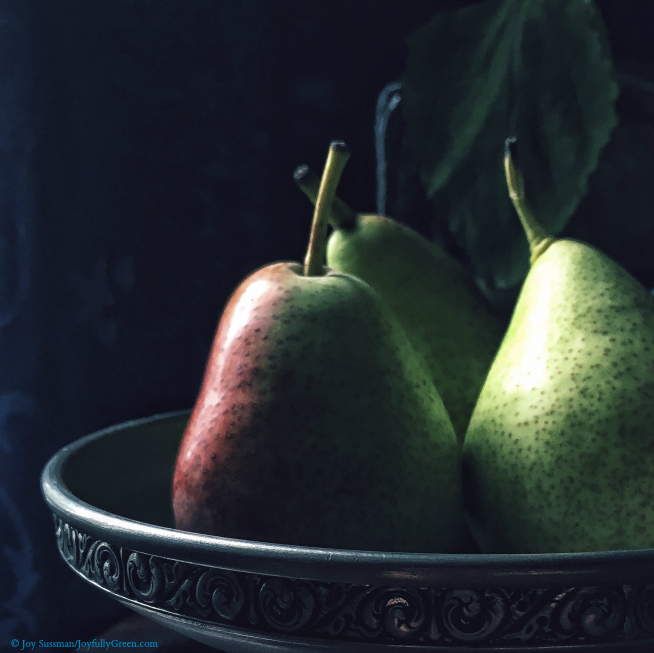 Pears © Joy Sussman - Joyfully Green LLC