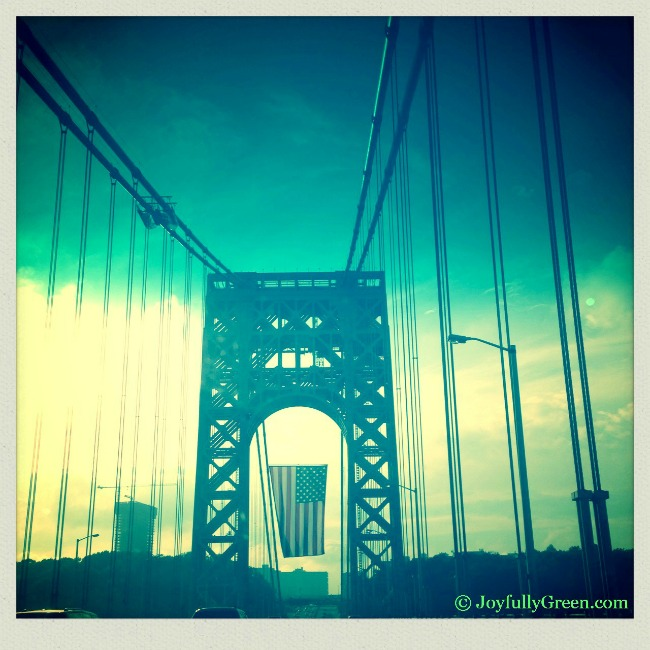 George Washington Bridge © Joyfully Green