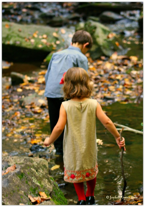 Children in Autumn © Joyfully Green
