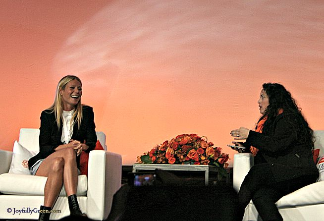 Gwyneth at BlogHer © Joyfully Green LLC