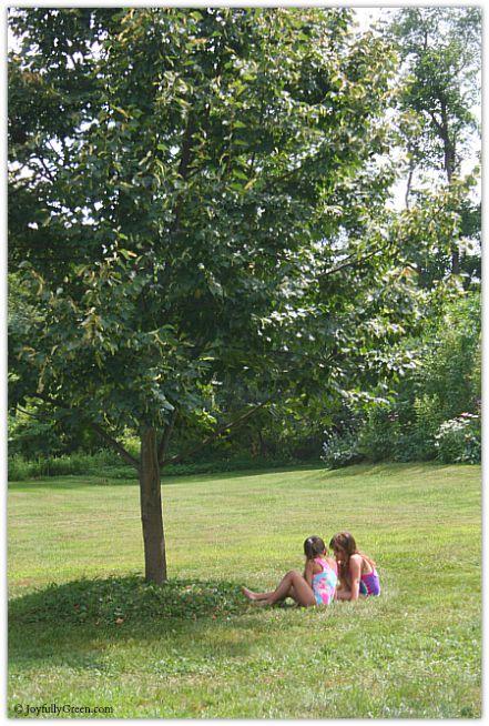 Girls on the Grass © Joyfully Green LLC