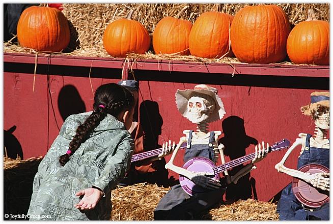 Catskills Girl with Skeleton © Joyfully Green LLC