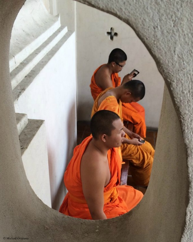 Thailand Monks March 5 © Michael Graziano