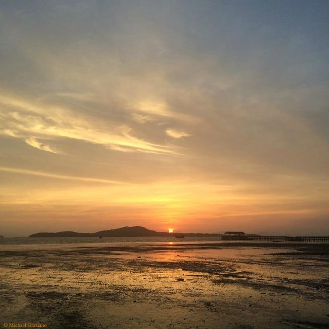 Thai Sunset March 26 © Michael Graziano
