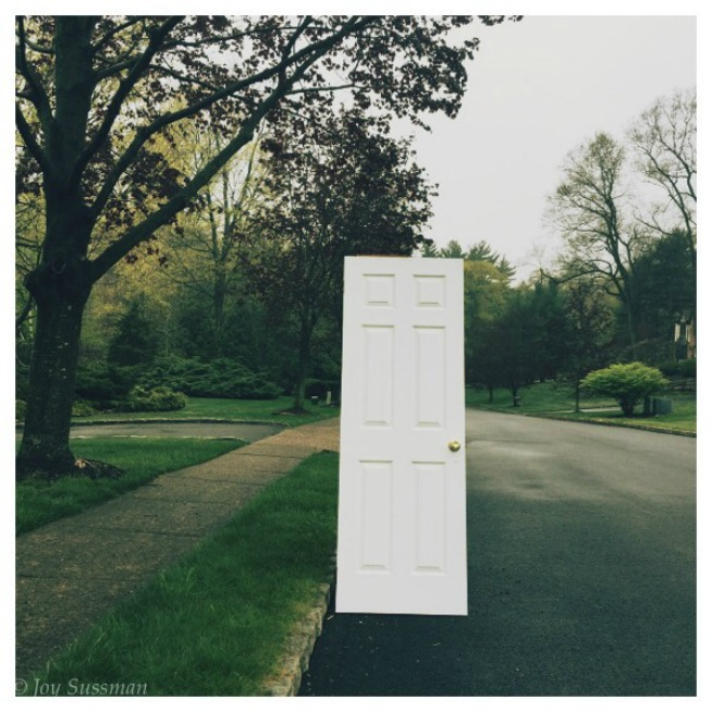 Door to Nowhere © Joy Sussman Joyfully Green LLC
