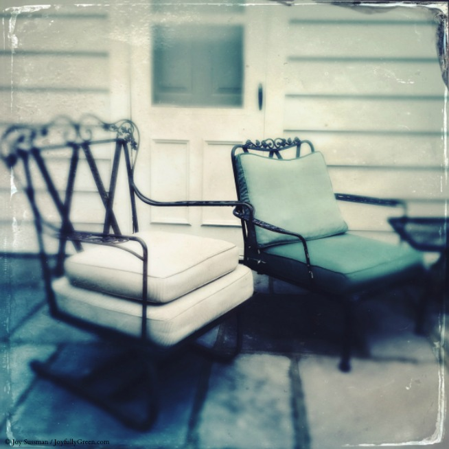 Chairs in Rhinebeck © Joy Sussman Joyfully Green LLC
