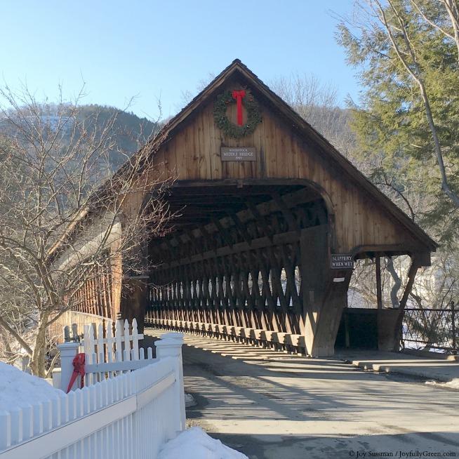 Woodstock Covered Bridge © Joy Sussman -  Joyfully Green LLC
