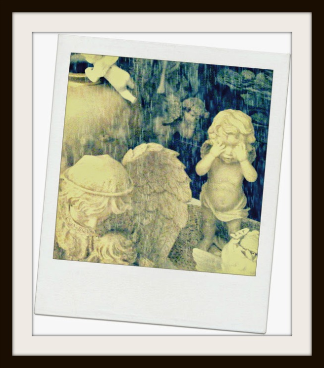 Copyright Connie Brown Polaroid Angels Framed