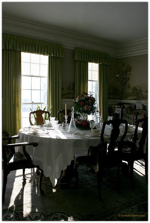 Hildene Dining Room © Joyfully Green LLC