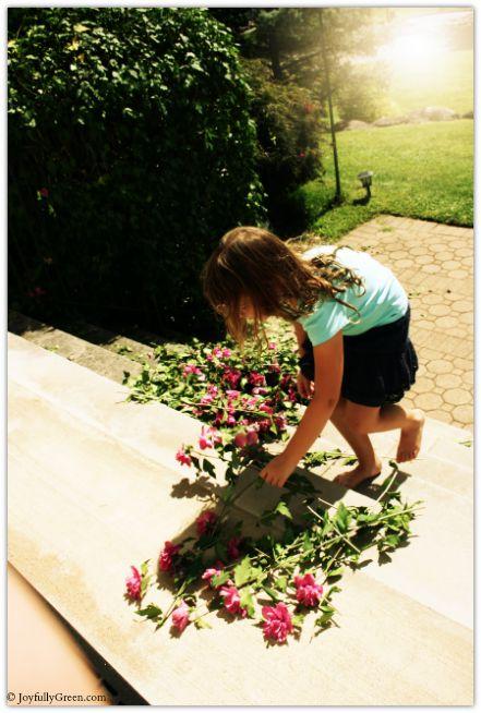 Gathering Flowers © Joyfully Green LLC