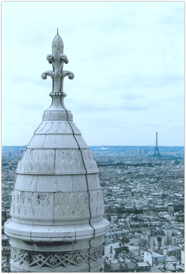 Paris Sacre Coeur © Joyfully Green LLC