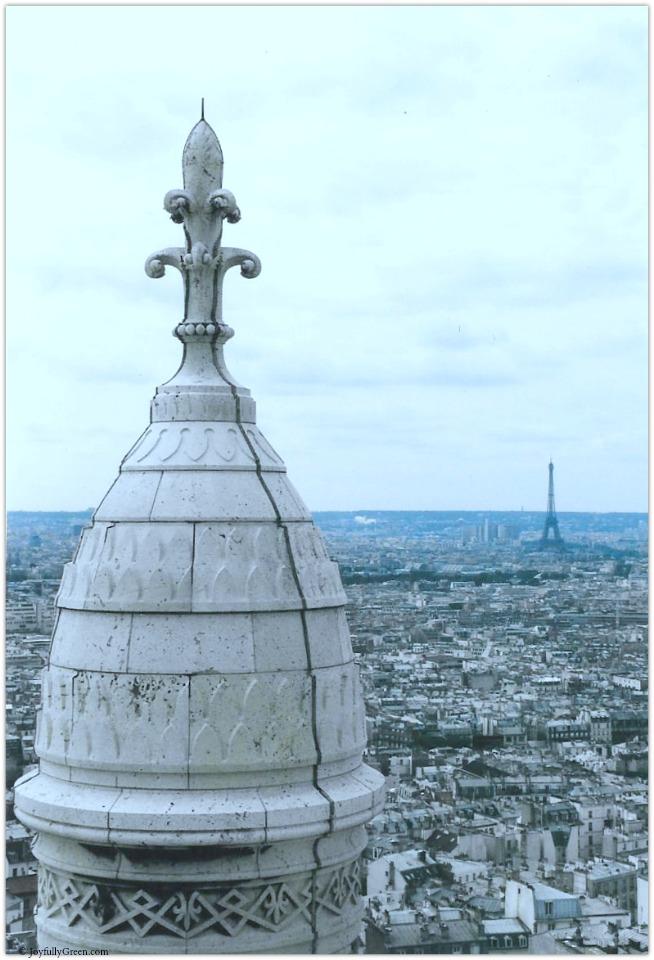 Paris Sacre Coeur © Joyfully Green LLC