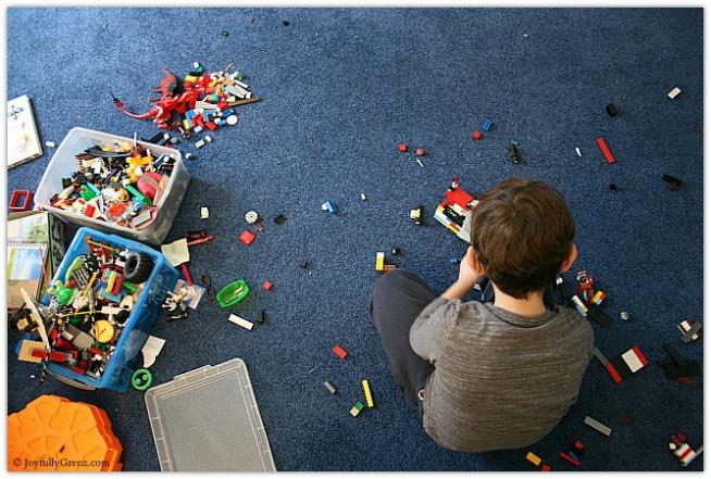 Lego Son © Joyfully Green LLC