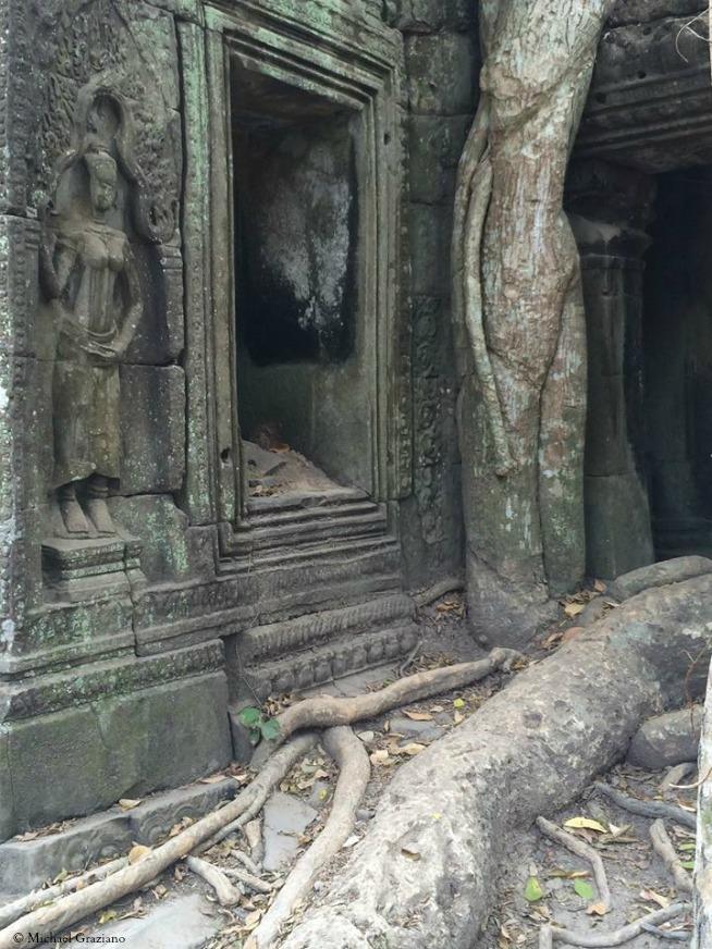 Thai file Cambodia Temple March 15 © Michael Graziano