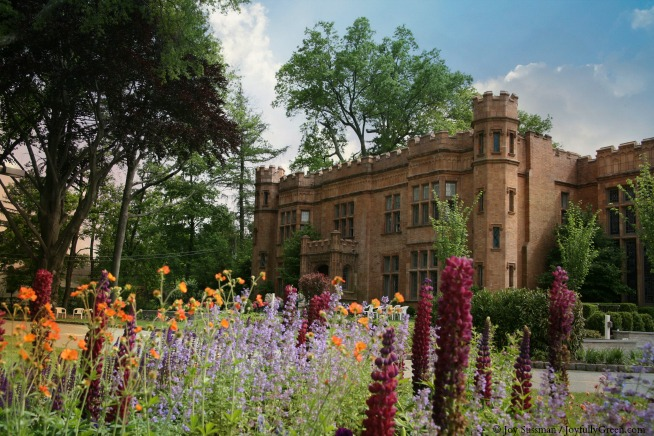 Mansion in May the Abbey © Joy Sussman - Joyfully Green LLC