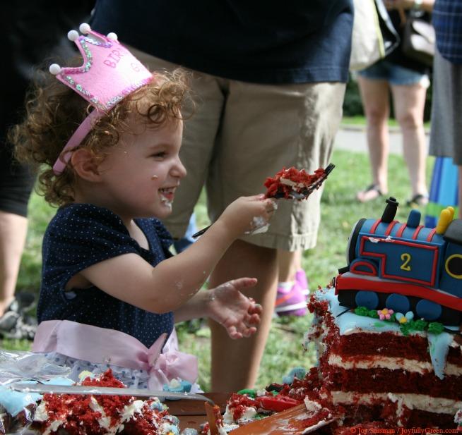 Birthday Girl 654 © Joy Sussman - Joyfully Green LLC