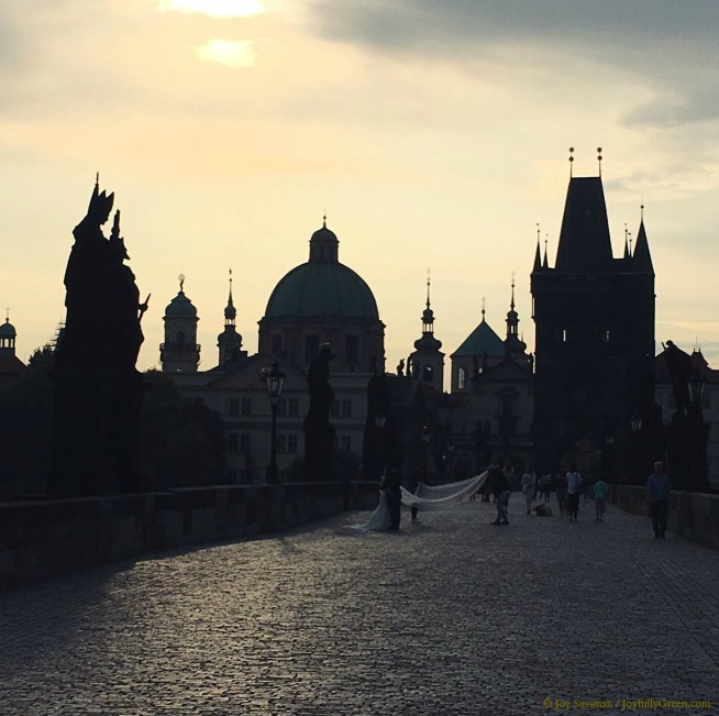 Prague Charles Bridge © Joy Sussman - Joyfully Green LLC