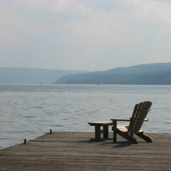 Deck chair and dock resized square 600  © Joy Sussman Joyfully Green LLC